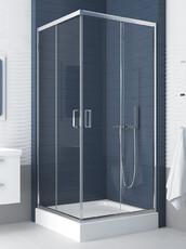 Душевой уголок (раздвижные двери) квадратный New Trendy Feria 80x80