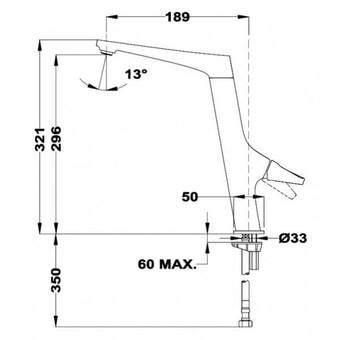 Кухонный смеситель Teka SN 915 (хром) 116030030