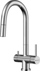 Кухонный смеситель Omoikiri Akita-S-BN 4994302 (нержавеющая сталь)