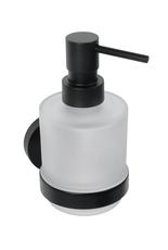 Bemeta DARK дозатор мыла настенный, черный (104109100)