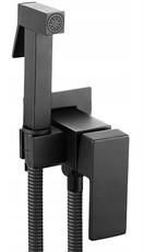 Гигиенический душ скрытого монтажа Rea Fenix Black REA-B5687