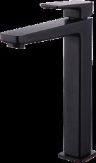 Смеситель для умывальника высокий ЧЕРНЫЙ Omnires Parma BLACK PM7412 BL