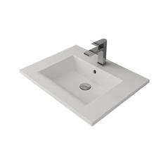 Умывальник Bocchi Milano 61х47 см белый (1161-001-0126)