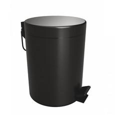 Bemeta DARK мусорная корзина, черный (104315010)