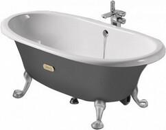 Чугунная ванна Newcast 170x85 серая (233650000)