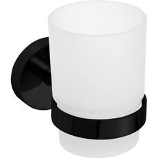 Bemeta DARK стакан настенный, черный (104110010)
