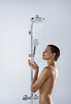 Душевая система Hansgrohe Crometta 160 1jet Showerpipe (27264400)