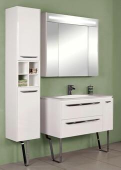 Зеркало-шкаф для ванной Акватон Блент 80 бел.