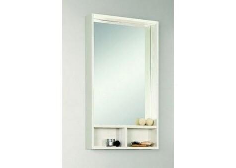 Акватон Зеркальный шкаф Йорк 50 бел/выбел. дерево 1A170002YOAY0