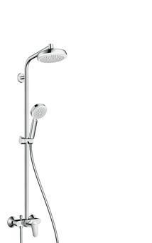 Душевая система Hansgrohe Crometta 160 1jet Showerpipe (27266400)