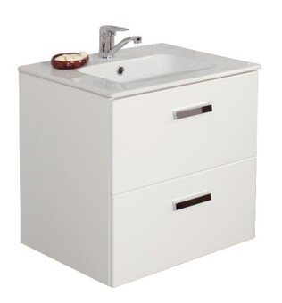 Шкаф под умывальник Roca Victoria Nord ZRU9000028 58,5x45x56,5, белый