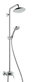 Душевая система Hansgrohe Croma 220 Showerpipe (27222000)