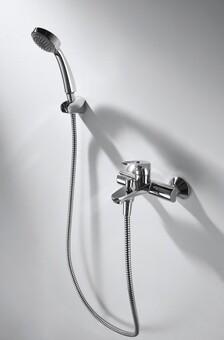 Смеситель для ванны и душа Bravat Drop-D (F648162C-B-RUS)