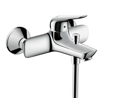 Смеситель для ванны и душа Hansgrohe Смеситель для ванны Novus 71040000 (71040000)