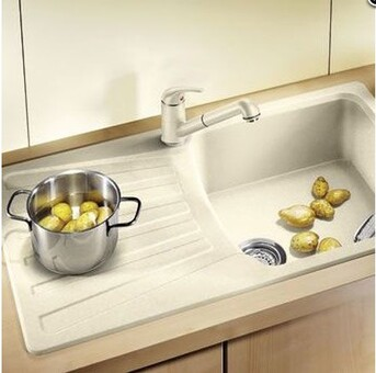 Кухонный смеситель Blanco Daras-S (шампань)