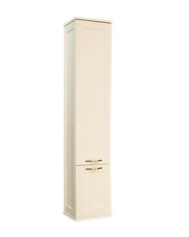Шкаф-пенал Акватон Шкаф-колонна Леон дуб белый (1A186503LBPS0)