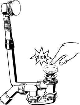 Сифон Viega Сифон для ванны Сlick-Сlack 572853