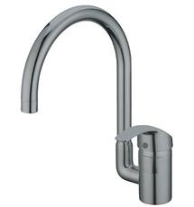 Смеситель для кухни Kaiser Nova ф40 боковой Grey серый (23044-20)