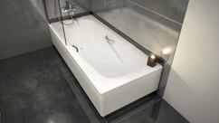 Ванна стальная BLB UNIVERSAL ANATOMICA с отверстиями для ручек