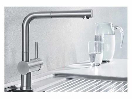 Кухонный смеситель Blanco LINUS-S (хром) 512402