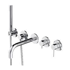 Смеситель для ванны Omnires Y на 2 потребителя Y1237/1CR (хром)