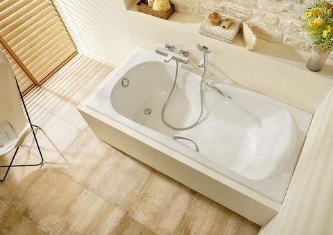 Чугунная ванна Roca Haiti с ножками