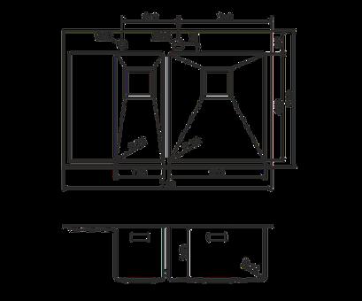 Кухонная мойка Omoikiri Akisame 78-2-IN-R