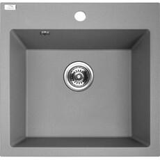 Кухонная мойка Laveo Alena SBA_510T (49х49) (серый)