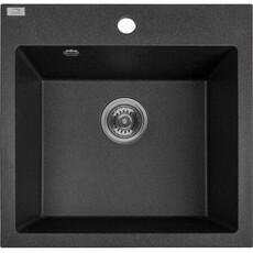 Кухонная мойка Laveo Alena SBA_710T (49х49) (черный)
