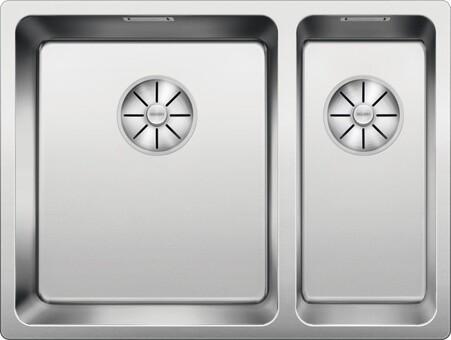 Кухонная мойка Blanco Andano 340/180-IF (зеркальная полировка, без клапана-автомата, левая)