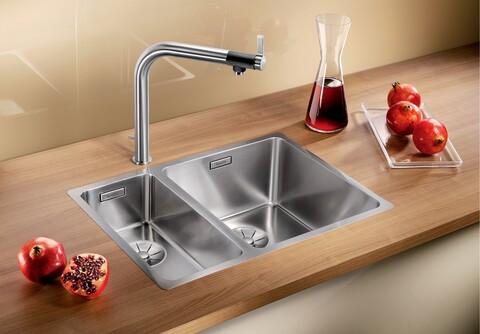 Кухонная мойка Blanco Andano 340/180-IF (зеркальная полировка, без клапана-автомата, правая)