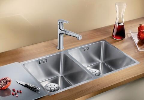 Кухонная мойка Blanco Andano 340/340-IF (полированная, без клапана-автомата)