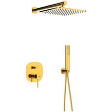 Душевая система скрытого монтажа laveo Pola BAP_G01P золото
