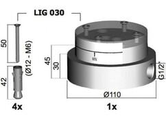 База для установки напольного смесителя Paffoni Light LIG030