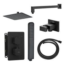 Душевая система Deante Box Nero скрытого монтажа c термостатом (BXYZNECT)