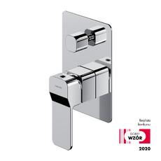 Смеситель для душа/ванны скрытого монтажа ХРОМ Omnires Slide L7735CR