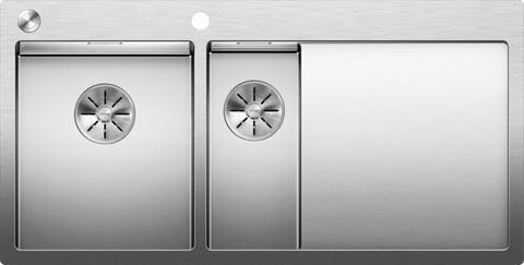 Кухонная мойка Blanco Claron 6 S-IF/А (левая, зеркальная полировка, с клапаном-автоматом)