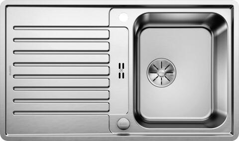 Кухонная мойка Blanco Classic Pro 45 S-IF (зеркальная полировка, с клапаном-автоматом InFino®)