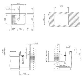 Кухонная мойка Teka Classico 1C MTX