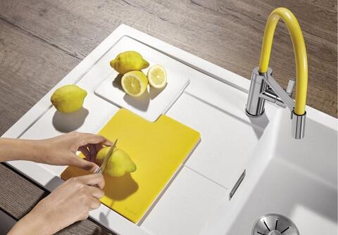 Разделочная доска гибкая Blanco SityPad лимон (236718)