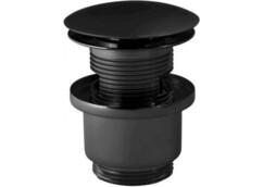 Донный клапан с камерой перелива Paffoni ZSCA050NO черный