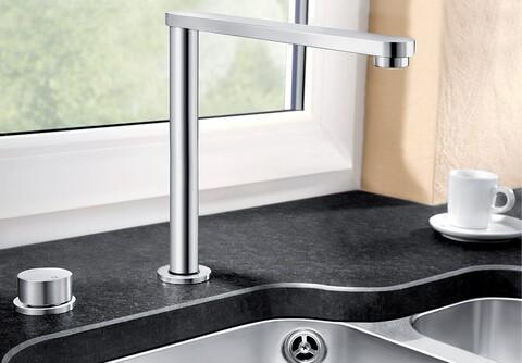 Кухонный смеситель Blanco Eloscope-F II (хром)