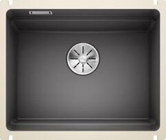 Кухонная мойка Blanco Etagon 500-U (базальт, с отводной арматурой InFino®)