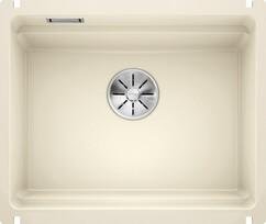 Кухонная мойка Blanco Etagon 500-U (глянцевый магнолия, с отводной арматурой InFino®)