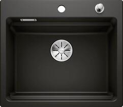 Кухонная мойка Blanco Etagon 6 (черный, с отводной арматурой InFino®)