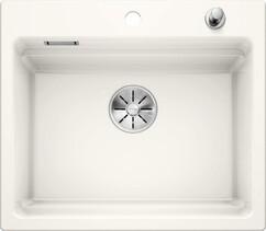 Кухонная мойка Blanco Etagon 6 (глянцевый белый, с отводной арматурой InFino®)