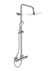 Душевая система Ideal Standart IDEALRAIN CUBE EVO с термостатическим смесителем для душа (A6985AA)