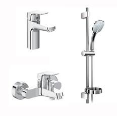 Комплект смесителей для ванны Ideal Standard Ceraflex B2189AA хром