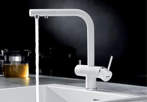 Кухонный смеситель Blanco Fontas II (белый)