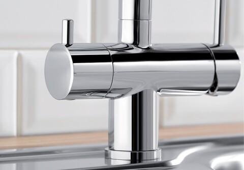 Кухонный смеситель Blanco Fontas II (хром) + BWT-БАРЬЕР EXPERT STANDARD